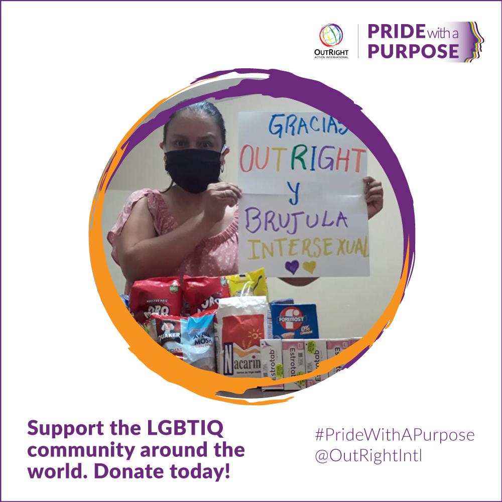 Support the LGBTIQ community around the world. Donate today!
