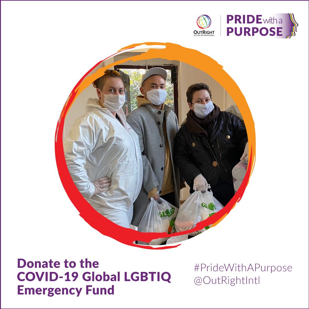 Donate to the COVID-19 Global LGBTIQ Emergency Fund