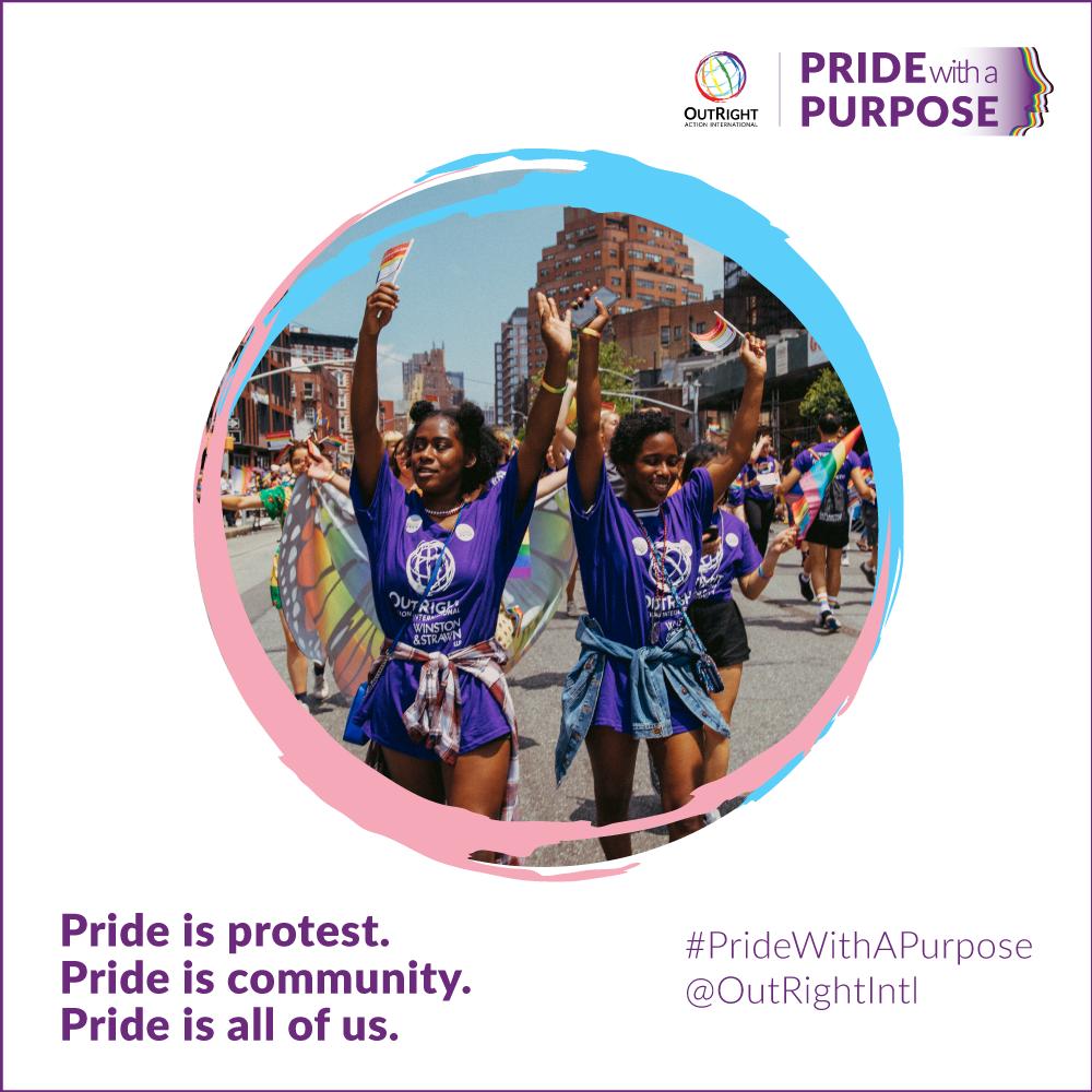 Pride is protest. Pride is community, diversity, defiance.